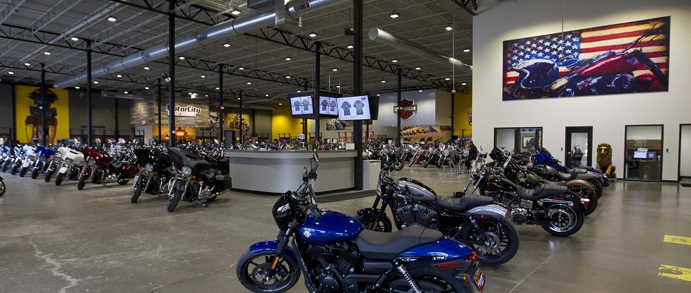 Harley Davidson High Bay LED Lights