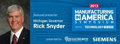 Gov Rick Snyder