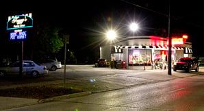 Fuzzys Restaurant LED Lighting