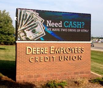 led bank signs