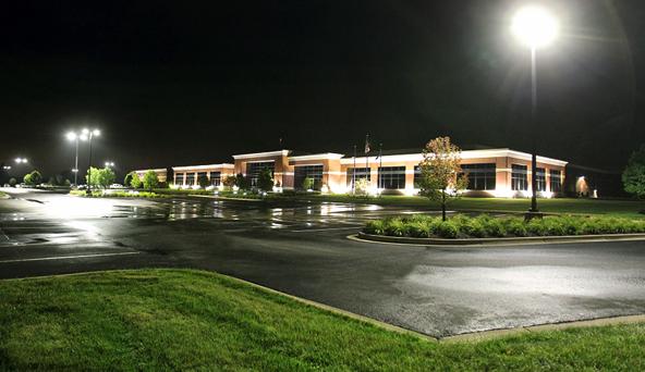 parking lot lighting design