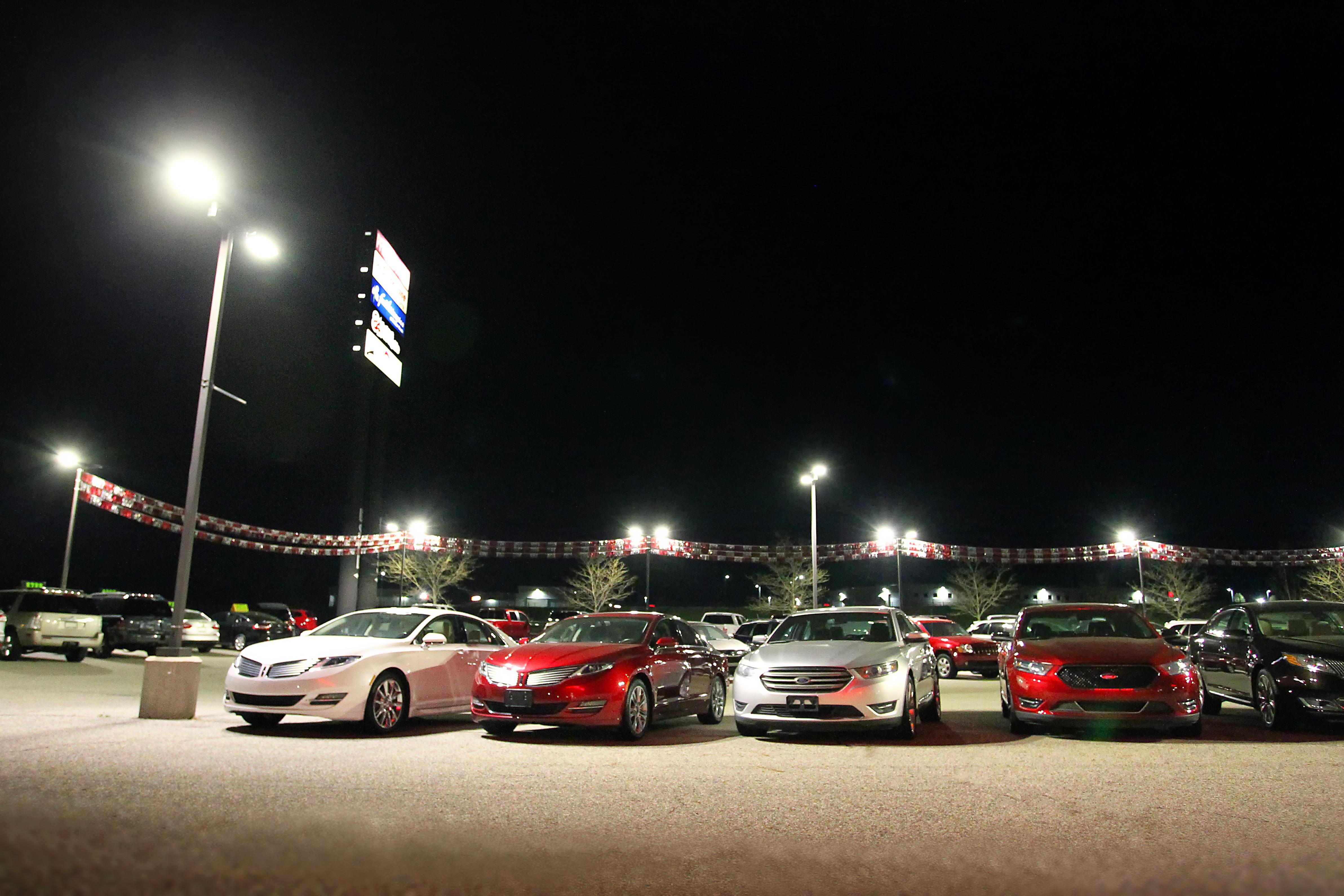 Parking Lot Lighting Tips for Car Dealerships