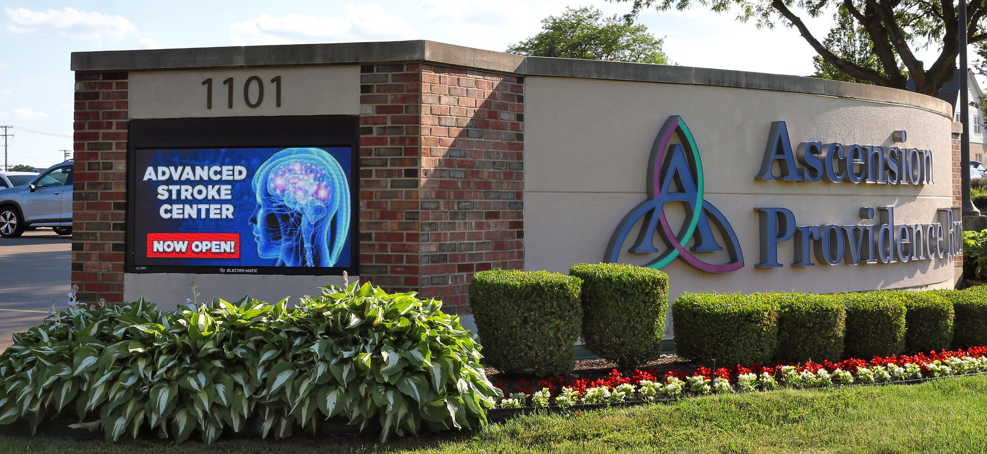 Ascension Hospital Loves New LED Display and Content from EM Visual