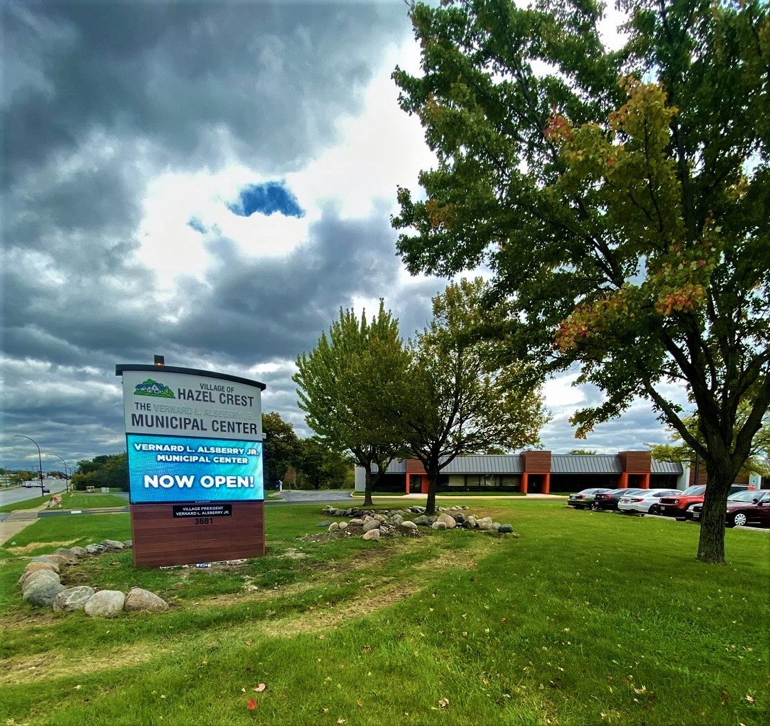City of Hazel Crest Invests in Three New LED Displays