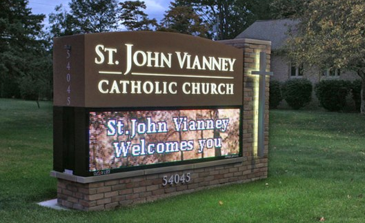 Choosing the Right Size of LED Sign for Your Church